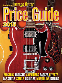 2015 Vintage Guitar Price Guide