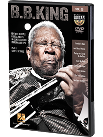 B.B. King - Guitar Play-Along DVD