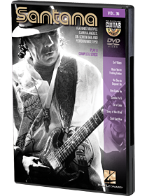 Santana - Guitar Play-Along DVD