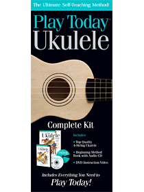 Play Ukulele Today Complete Kit