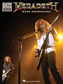 Megadeth Bass Anthology