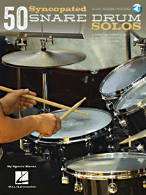 50 Syncopated Snare Drum Solos