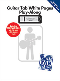 Guitar Tab White Pages with USB