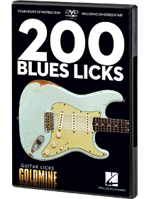 200 Blues Licks - DVD