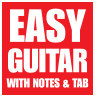 Easy Guitar with Notes & Tab
